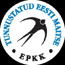 Tunnustatud Eesti Maitse toidumärk (pääsukesemärk)